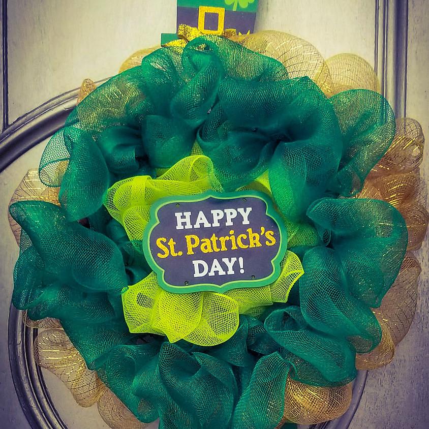 NEW - St. Patrick's Day Wreath