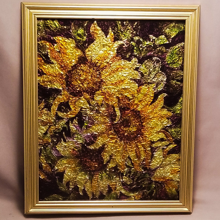 NEW - Sunflower Alcohol Ink