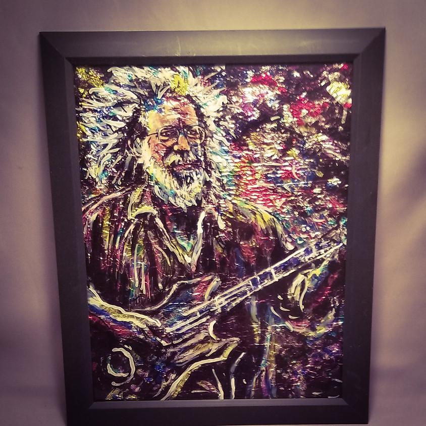 *NEW* Jerry Garcia - Embossed Metal
