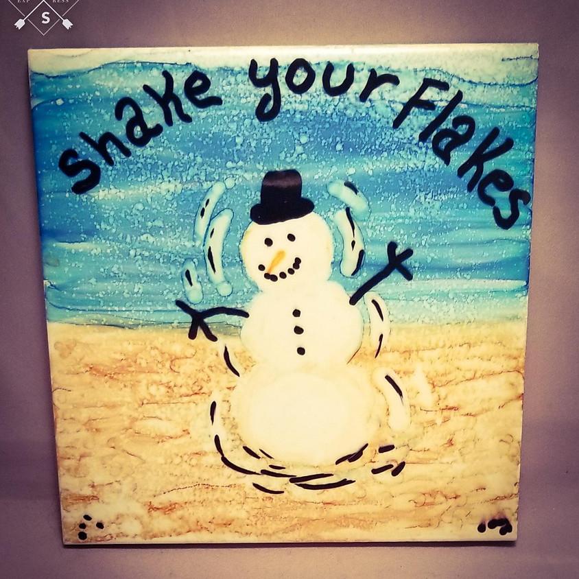 Shake Your Flakes - Trivet