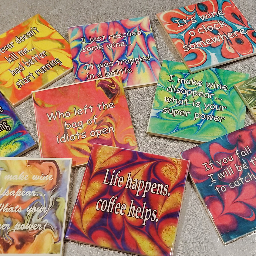*NEW* Cool Quotes Coasters
