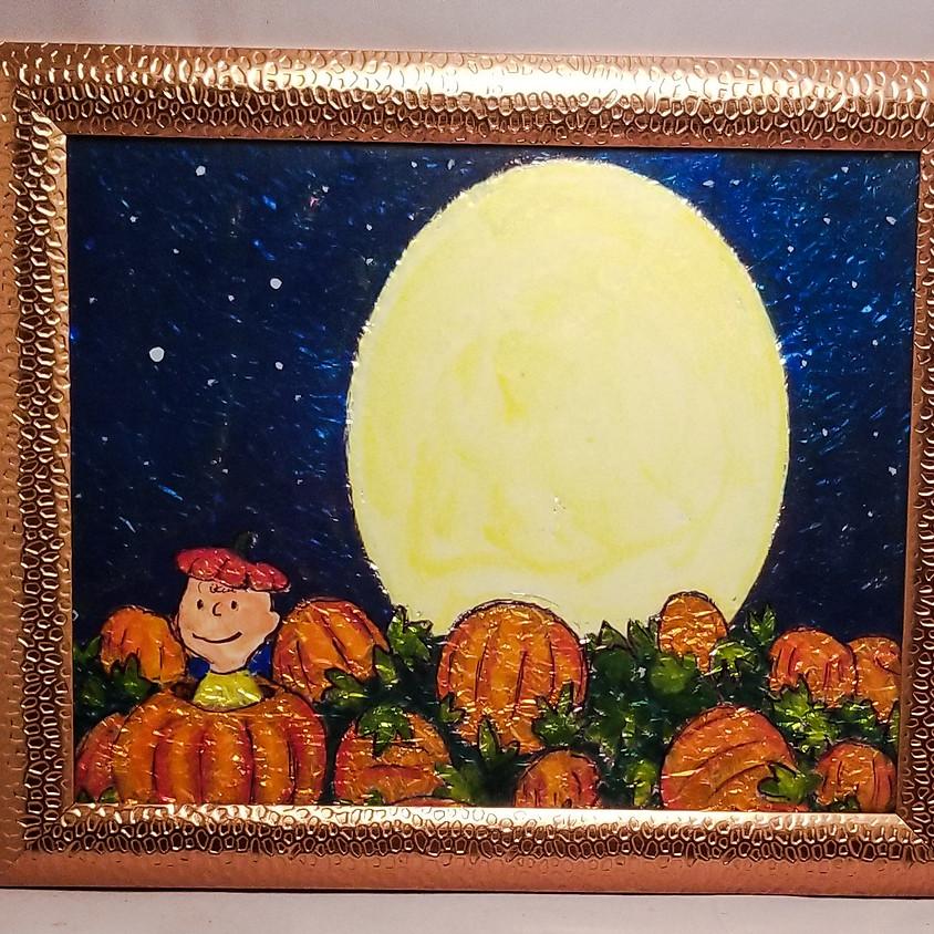 NEW - Great Pumpkin - Alcohol Ink