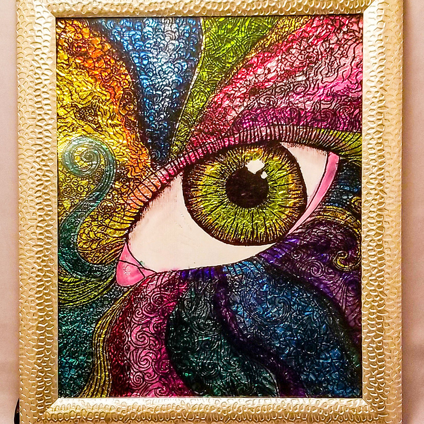 *NEW* Eye See Your True Colors - Alcohol Ink