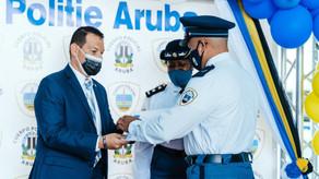 ENTREGA DI DIPLOMA 14 Polis nobo pa reinforsa Cuerpo Policial