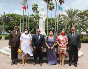 MINISTER XIOMARA MADURO TA FELICITA COMUNIDAD FILIPINO PA E CELEBRACION DI 123 AÑA DI INDEPENDENCIA