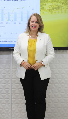 Prome Minister Evelyn Wever-Croes: