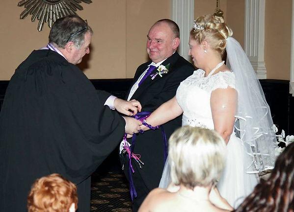David William Parry, Handfasting Ceremony
