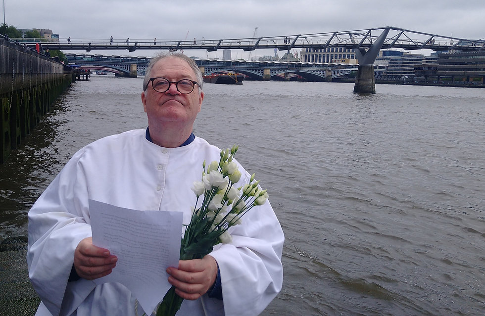 David William Parry Umbanda Priest Thames River London