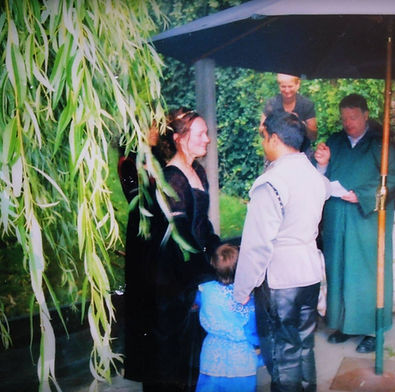 David William Parry, Clergy Celebrant Wedding