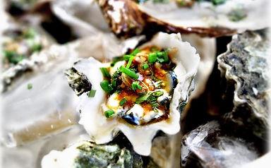Kumamoto Oysters with Lime Vinaigrette