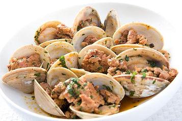 Manila Clams and Chorizo in White Wine