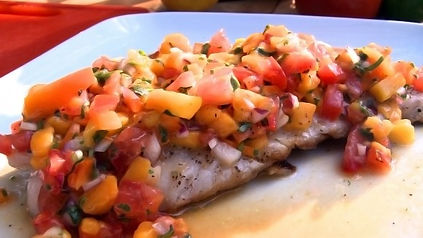 Red Snapper and Mango