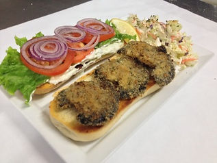 Abalone Steak Sandwich