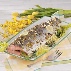 Salmon Whole Baked