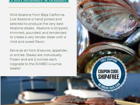 Wild Abalone from Baja California - Back in Stock