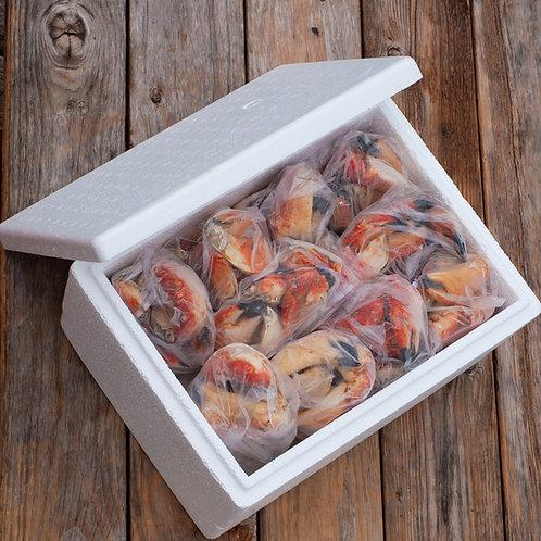 Big Box Rock Crab Claws 10lbs