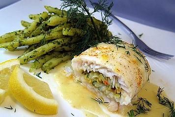 Shrimp Stuffed Sole