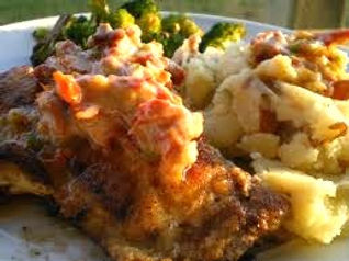 Red Snapper - Sauteed with Sun-Dried Tomatoes