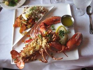 Lobster Baked Stuffed