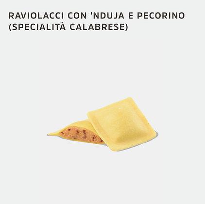 RAVIOLACCI A LA 'NDUJA & FROMAGE PECORINO  3 KG SURGITAL