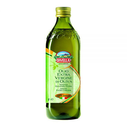 HUILE EXTRA VIERGE 100% ITALIENNE 1 LT DIVELLA