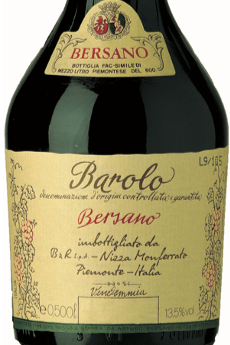 BAROLO DOC 50 CL BERSANO