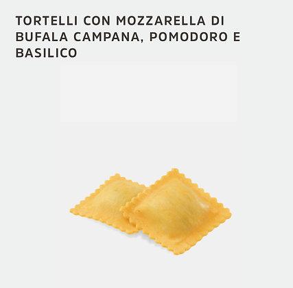 TORTELLI A LA MOZZARELLA DI BUFALA CAMPANA, TOMATE & BASILIC 3KG SURGITAL