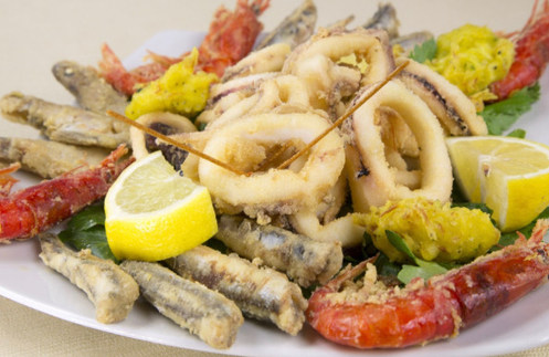 Mix poisson et fruit de mer