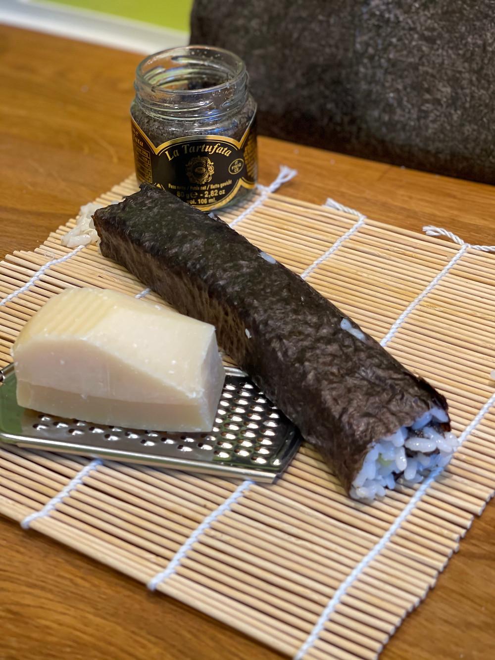 maki'talian crème de truffes et parmesan