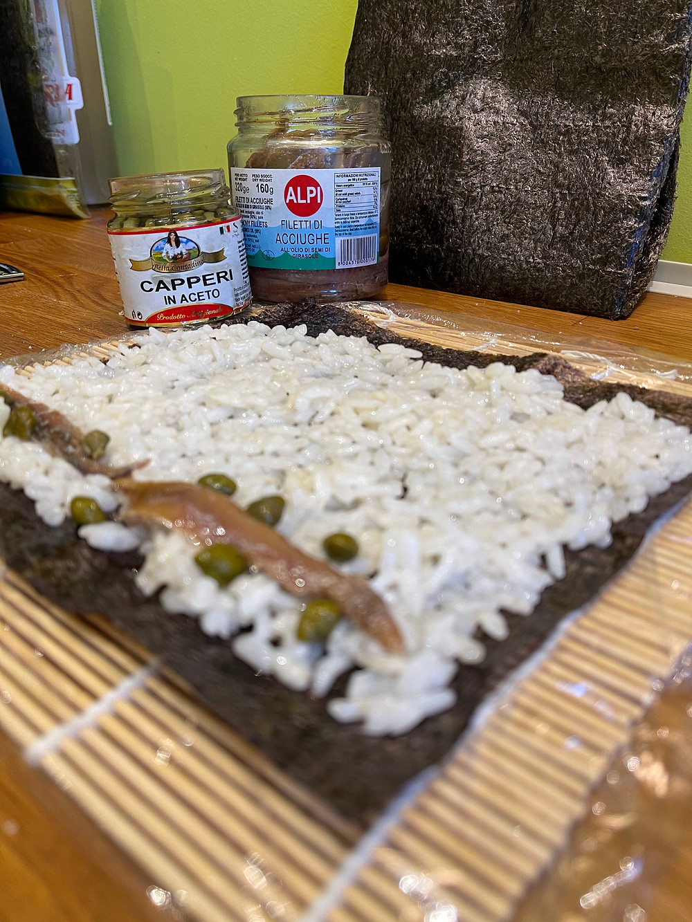 maki'talian anchois et câpres