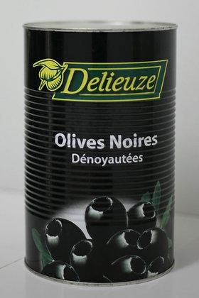 OLIVES NOIRES DENOYAUTEES CAL 26/29 - 5KG DELIEUZE
