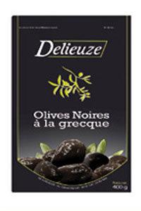 OLIVES NOIRES FACON GRECQUE 5 KG DELIEUZE