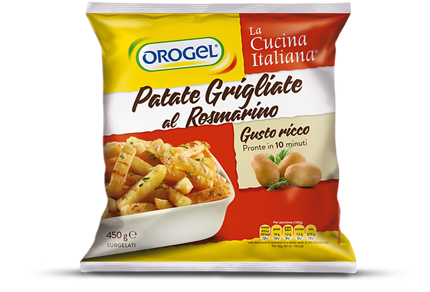 "POMME DE TERRE GRILLEES  ""GRAN GUSTO"" 1 KG OROGEL"