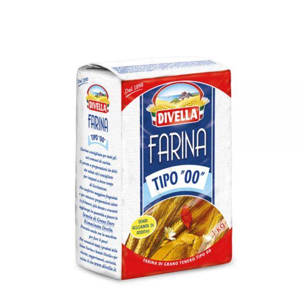 Farine de blé tendre 00 Divella