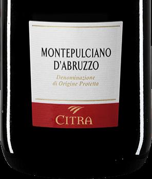 "MONTEPULCIANO D'ABRUZZO DOP ""TERRA MARE"" 75 CL CITRA"