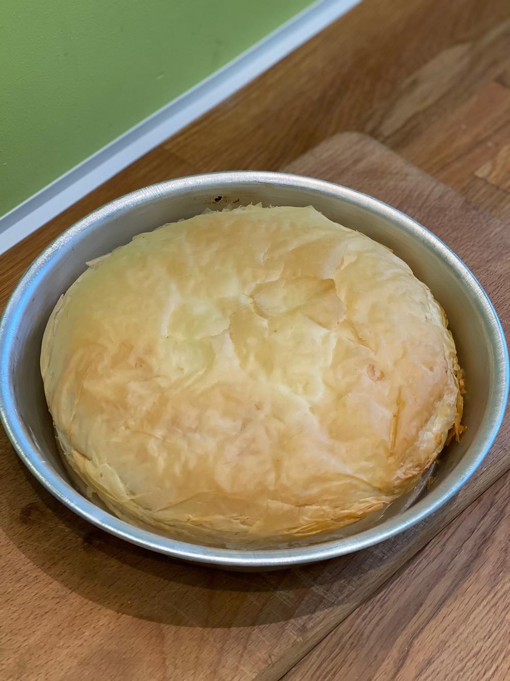 Torta Pasqualina après cuisson