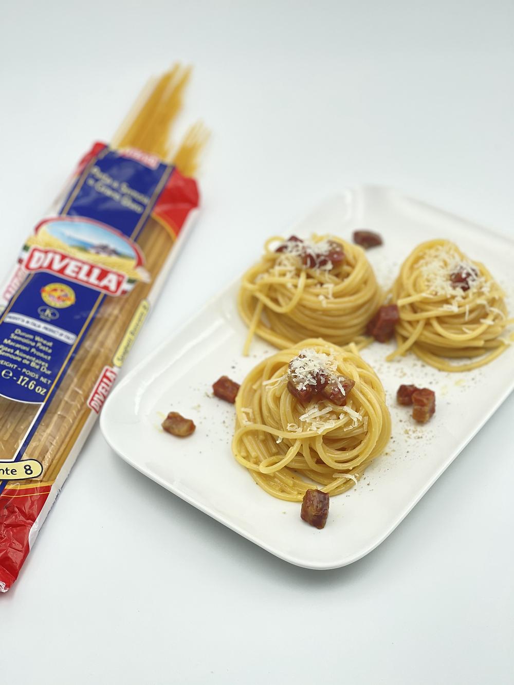 Spaghetti carbonara Divella