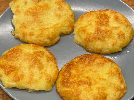 Burger végétarien de patate & Parmesan