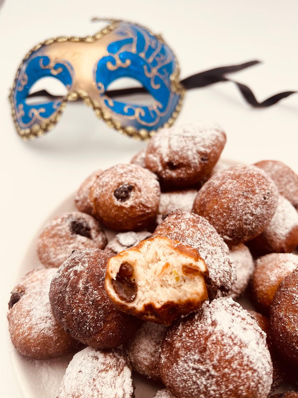 Beignets vénitien du Carnaval de Venise