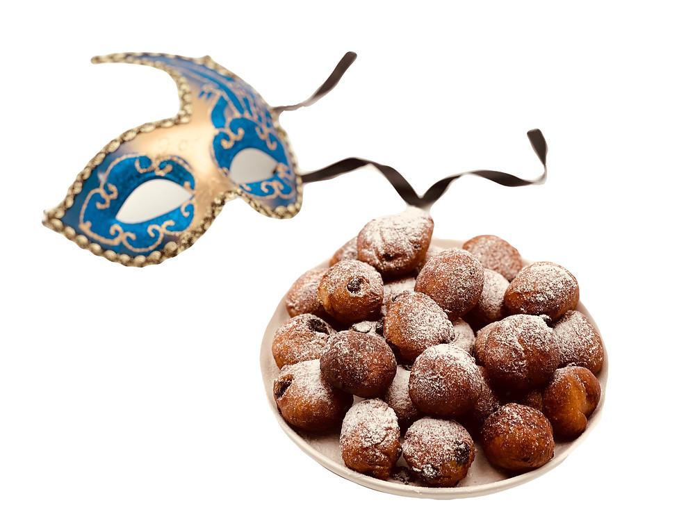 Beignets typique du Carnaval de Venise