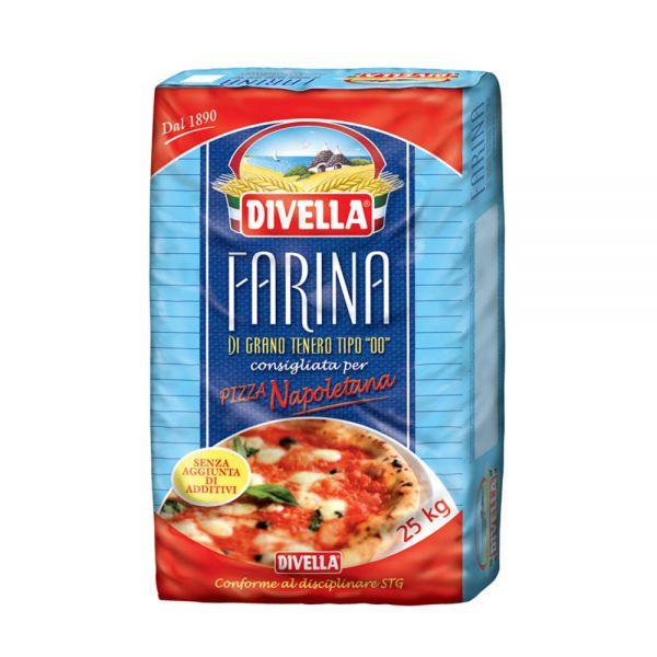 Farine pizza napoletana 00 Divella