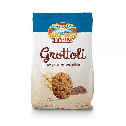 GROTTOLI PEPITES DE CHOCOLAT 400 GR DIVELLA