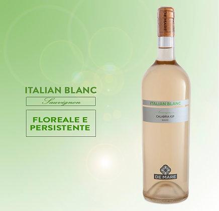 CALABRIA SAUVIGNON IGP ITALIAN BLANC 75 CL DE MARE