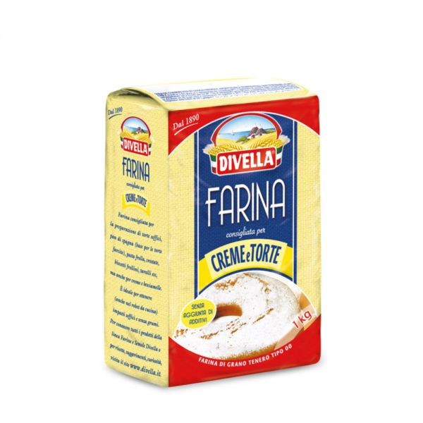 Farine crème & gâteaux 00 Divella