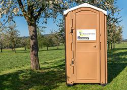 Toilettenkabine