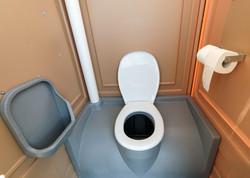 Innenraum Toilettenkabine