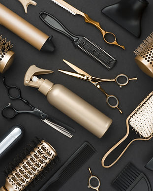Hair Supplies, hairstyling tools