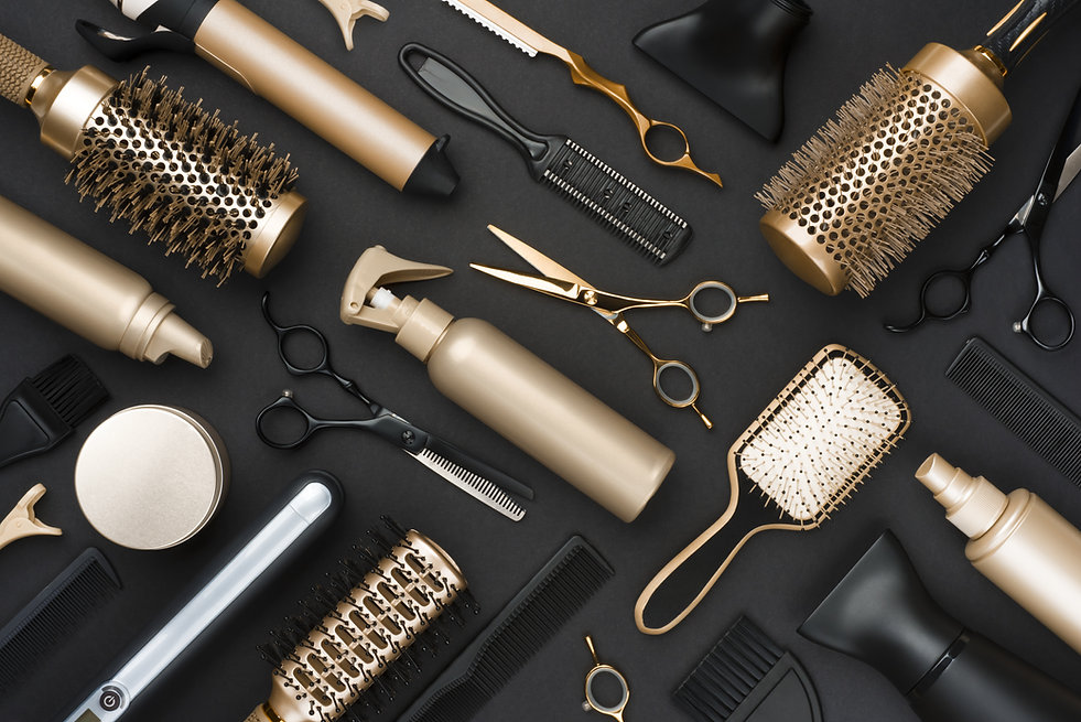 Hair brushes, combs, shears, and dryers
