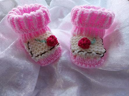 Cupcake, Muffin Babyschuhe