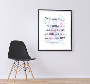 Träume - DIN A4 Print